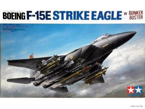 Самолет BOEING F-15E Strike Eagle w/Bunker Buster, сборная модель 1/32 TAMIYA 60312
