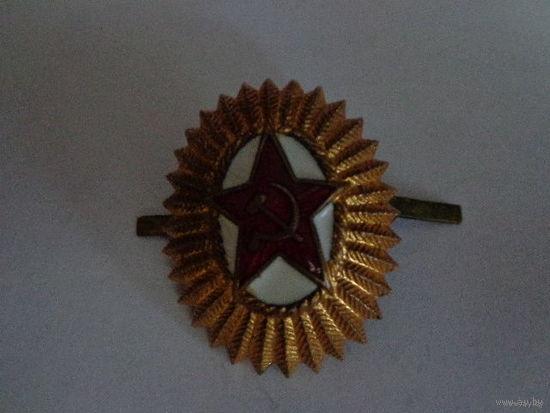 Офицерская кокарда СССР тяж металл