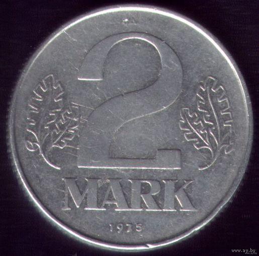 2 Марки 1975 год ГДР