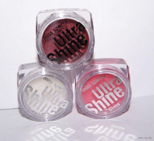 БЛЕСК для губ Miss Sporty Ultra Shine Lip Gloss 6 оттенков