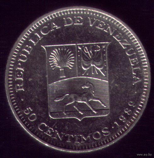 50 сентимос 1989 год Венесуэла