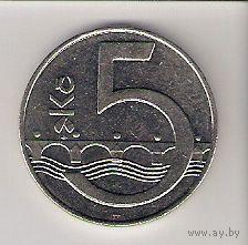 Чехия, 5 koruna, 1994г
