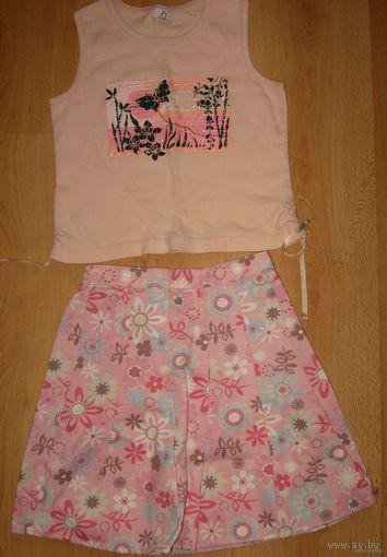 Новая летняя юбка 3-4 года NEXT