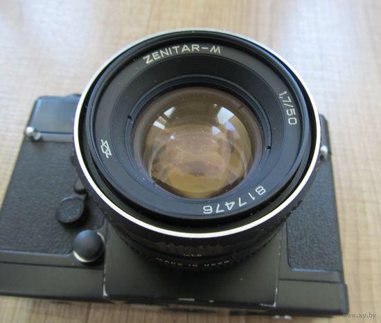 Фотоаппарат Zenit 19 с объективом ZENITAR-M,СССР,С РУБЛЯ