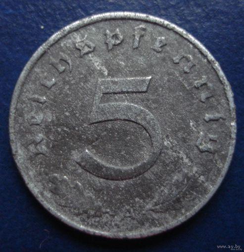 5 пфеннингов 1943 (А) 2