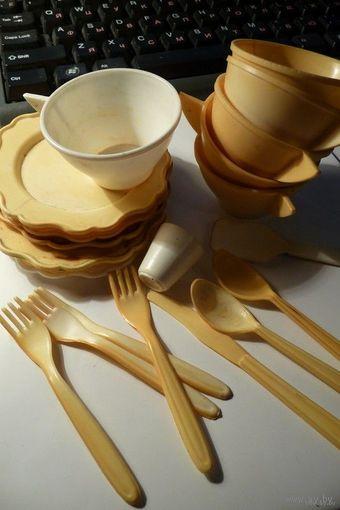 Игрушечная посуда/ посудка для кукол (СССР)