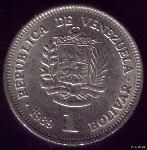 1 Боливар 1989 год Венесуэла