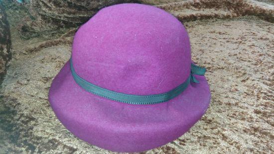 Ретро шляпа. женская шляпка винтаж