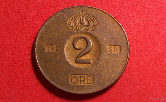 2 эре 1968. Швеция.