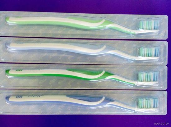 Зубные щетки Glister универсальные ( упаковка из 4 шт.). Без обмена.