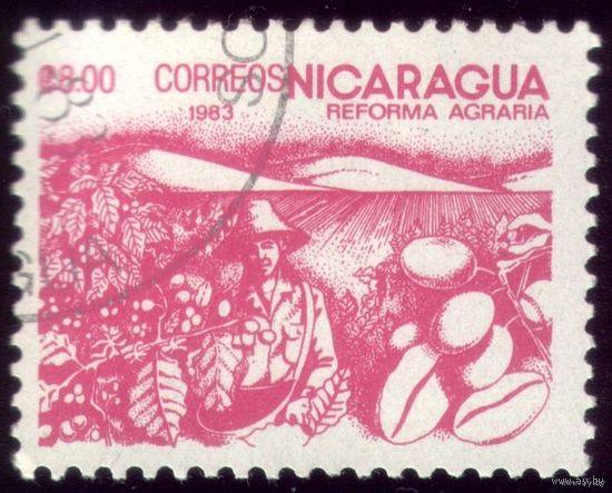 1 марка 1983 год Никарагуа Кофе