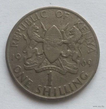 Кения, 1 шиллинг 1969 год