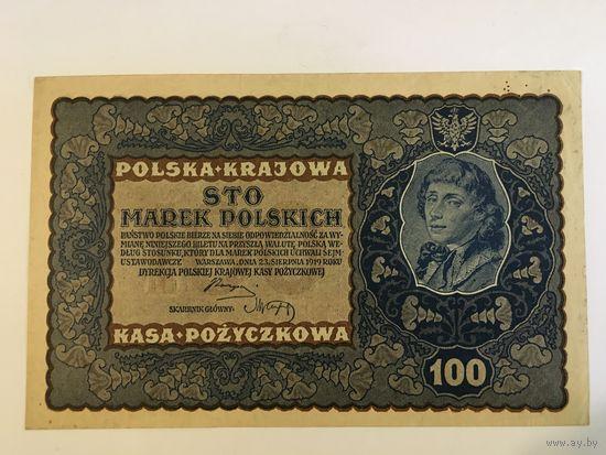 Польша 100 марок Мицкевич