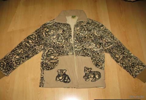 Осенняя бархатная куртка 6-9 лет