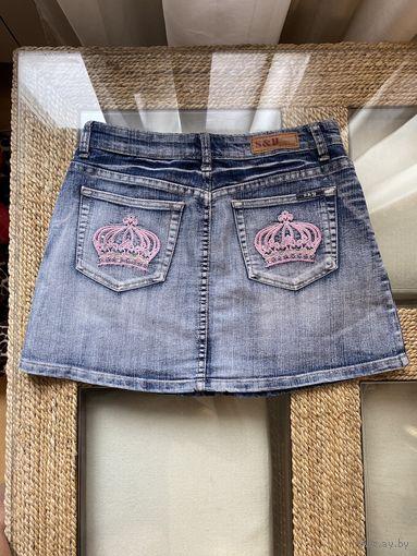 Юбка джинсовая супер классная