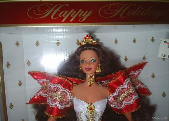 Кукла Барби/Barbie Happy Holidays фирмы Mattel, 1997 г.