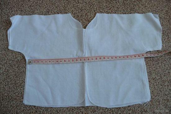 Распашенки новые тонкие 4 шт.(Одежда на ребенка 0-6 месяцев). Цена за все