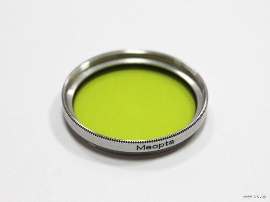 Светофильтр желто-зеленый Meopta GGR1-M38