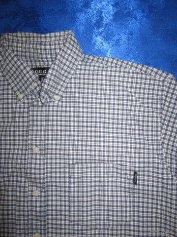 Рубашка H&M, маркировка 164, размер большой. Хлопок 100%