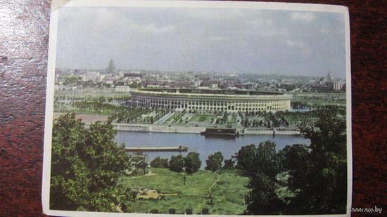 Москва стадион Ленина 60-ые годы