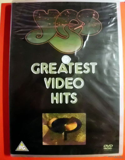 "Original DVD!!! Yes ""Greatest Video Hits"" 1991"
