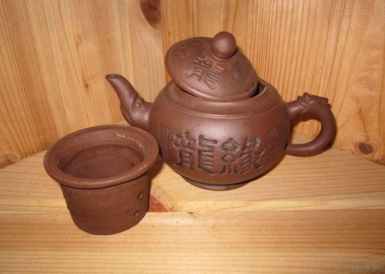 Заварник глиняный китайский