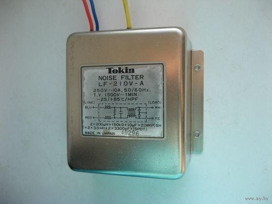 Сетевой фильтр Tokin LF-210V-A (made in Japan)