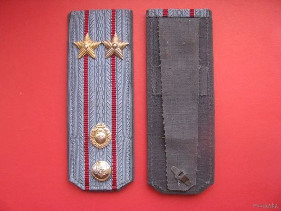 Погоны подполковника милиции в сборе СССР.