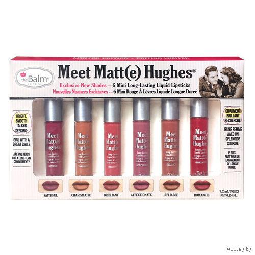 TheBalm Meet Matte Hughes Mini Kit V2 набор матовых помад