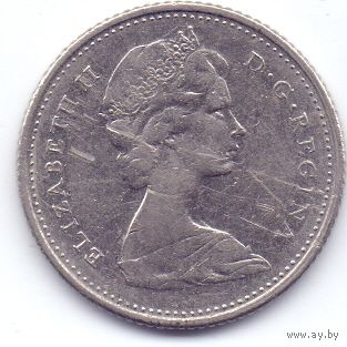 Канада, 10 центов 1968 года.