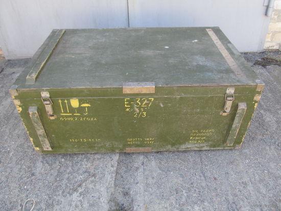 Ящик деревянный военного назначения 2