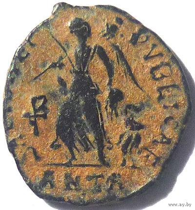 РИМ. ВАЛЕНТИНИАН II (375-392 г.) АНТИОХИЯ. АЕ4.