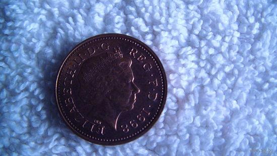 Англия 1 пенни 1998г распродажа