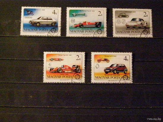 История авто. Венгрия 1986 Автомобили