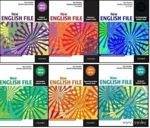 New English File (все уровни, с книгами в электронном виде и аудио и видео материалами) (DVD) + Oxford Read and Discover Levels 1 - 6: Читаем и познаем мир с Оксфордом. Уровни 1 - 6