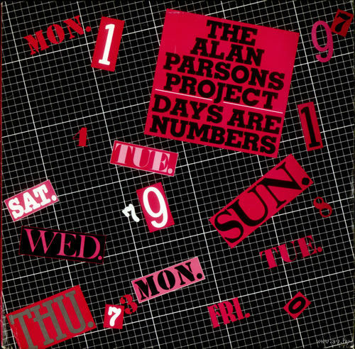 "12"" The Alan Parsons Project - Days Are Numbers (The Traveller) (1985)"