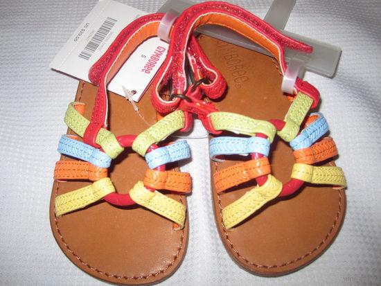Босоножки сандали для девочки Gymboree