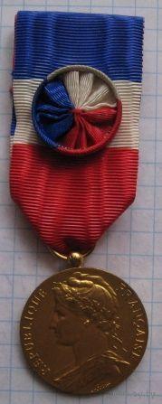 Франция Почетная Медаль Министерства Социальной Защиты