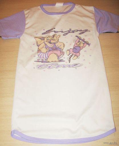 Рубашка для сна 5-7 лет