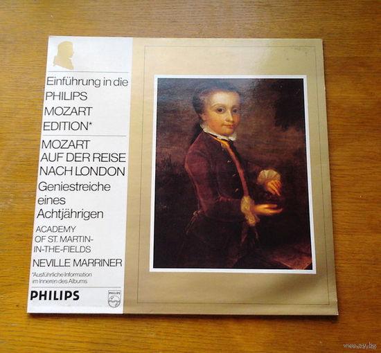 Mozart auf der reise nach London. Academy Of St.Martin-In-The-Fields - Neville Marriner, LP