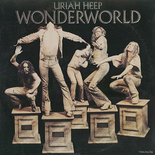 Uriah Heep - Wonderworld - LP - 1974