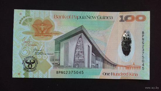 100 кина 2008 года. Папуа-Новая Гвинея. Юбилейная. UNC. Распродажа