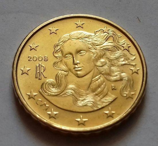 10 евроцентов, Италия 2008 г., AU