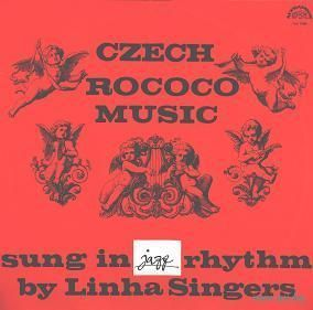 LP JIRI LINHA SINGERS - CZECH ROCOCO MUSIC Sung In JAZZ Rhythm(1968) VOCAL JAZZ