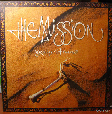 "LP The MISSION ""Grains of Sand"" (1992) Alternative Rock"