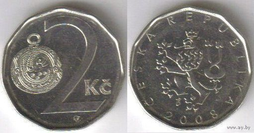 2 кроны чехии 2007г.   распродажа