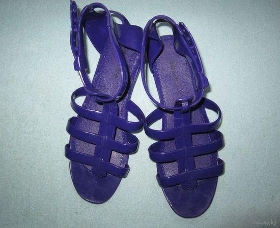 Римские сандалии/босоножки пляжные (силиконовые), р.36-37