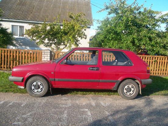 Автомобиль Фольксваген-Гольф 2,  1988 года бензин, 1,3 объем