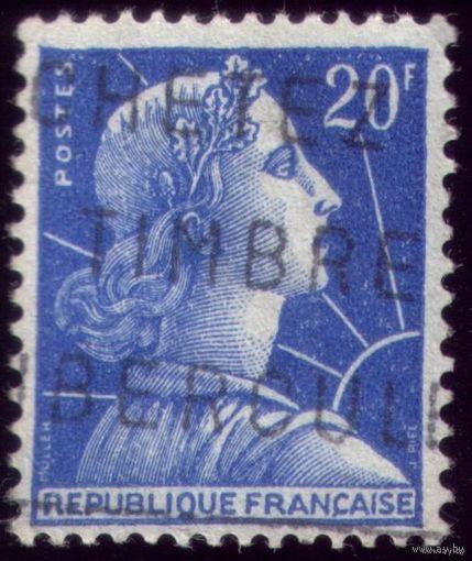 1 марка 1957 год Франция